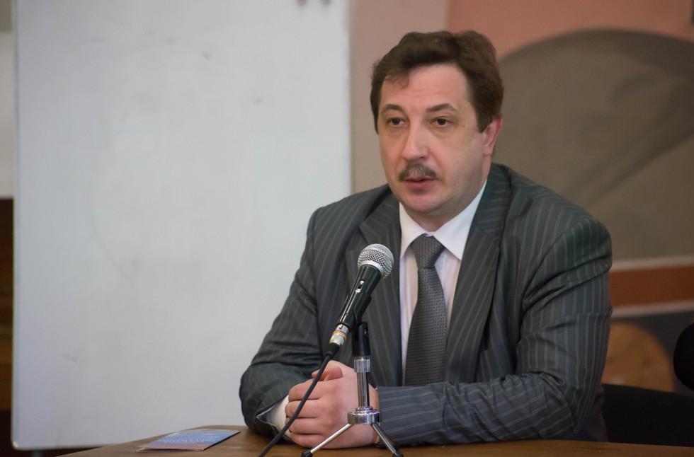 Дмитрий Шмонин, проректор по научной работе РХГА