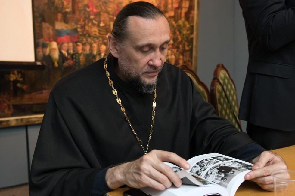 Протоиерей Сергий Стаценко, председатель Просветительского отдела Ташкентской и Среднеазиатский епархии, проректор Ташкентской духовной семинарии