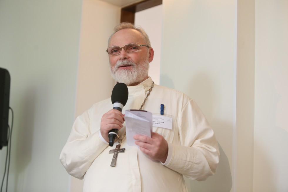 Fr. Georgy Kochetkov, Rector of SFI