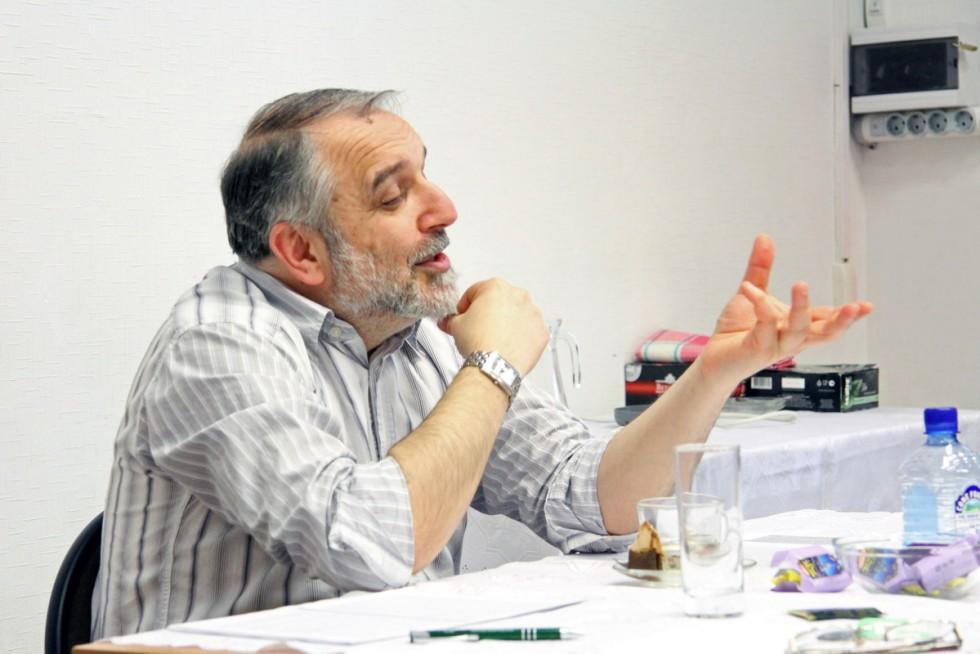 специалист по буддизму и новым религиозным движениям Сергей Викторович Щербак