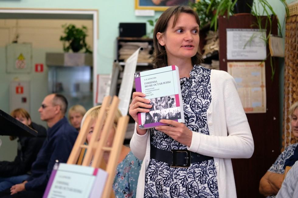Ольга-Олеся Сидорова, представитель издательства Свято-Филаретовского института