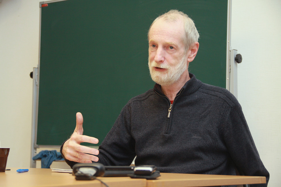 Grigory Gutner, lecturer in Philosophy
