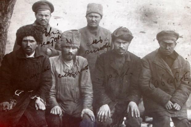 Участники Тамбовского восстания. Фото: Тамбовский областной краеведческий музей