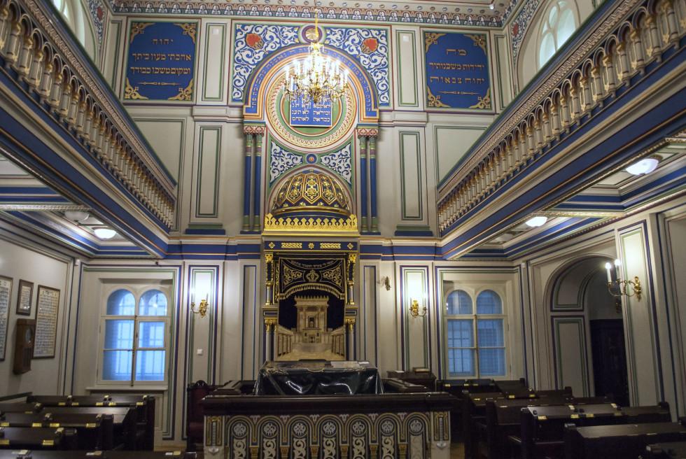 Малый зал Большой хоральной синагоги