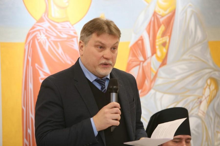 Алексей Мазуров, ректор Свято-Филаретовского института