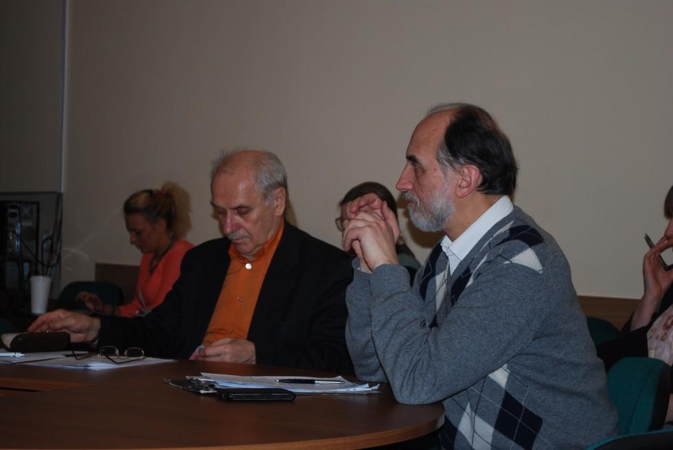 Профессор СФИ Александр Михайлович Копировский выступает на секции «Религия: исторические и актуальные вопросы»