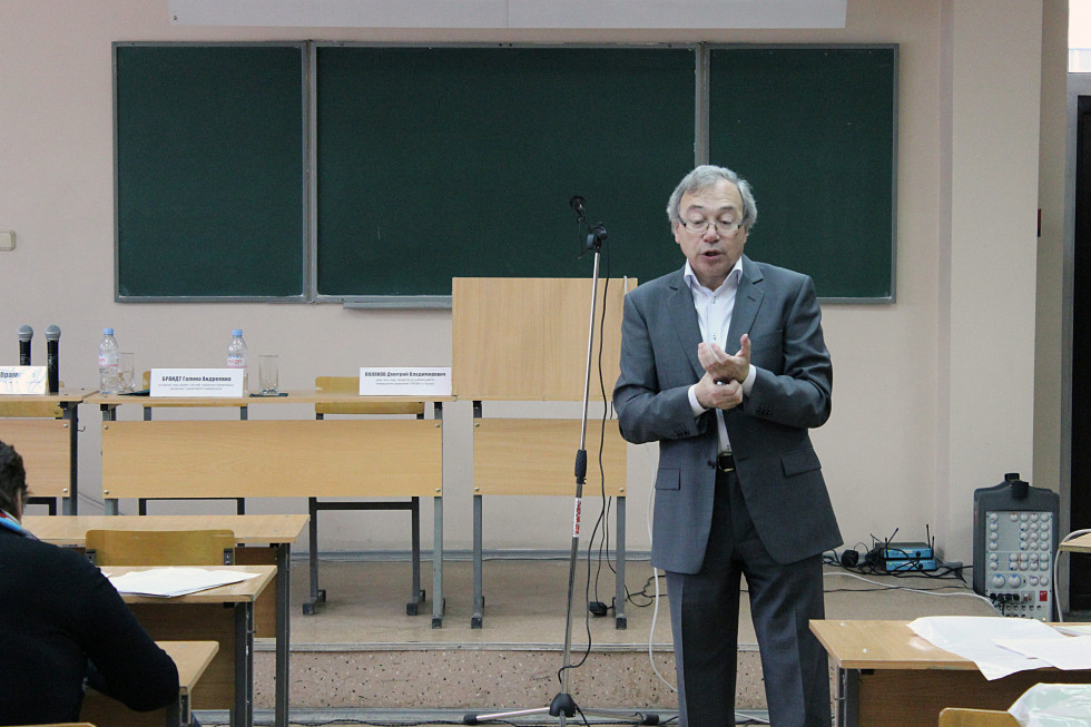 Лев Абрамович Закс, доктор философских наук, ректор Гуманитарного университета Екатеринбурга
