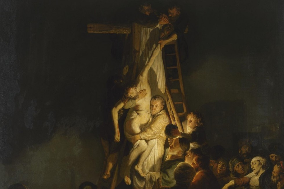 Рембрандт Харменс ван Рейн. 1634. Снятие с креста