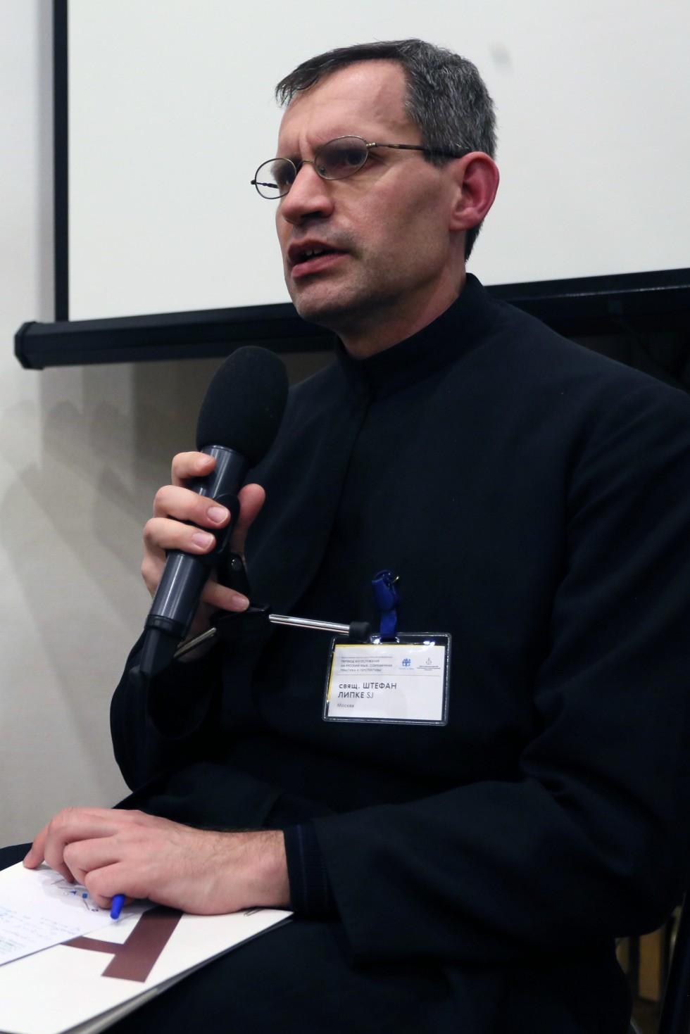 Священник Штефан Липке, SJ, директор Института святого Фомы