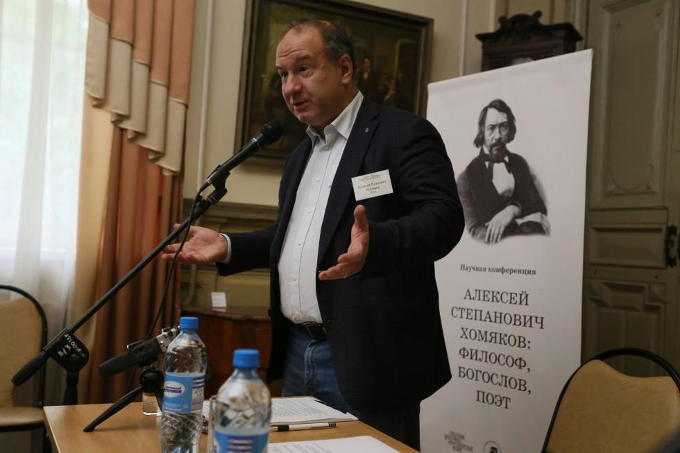 Алексей Павлович Козырев, кандидат философских наук, заместитель декана философского факультета МГУ