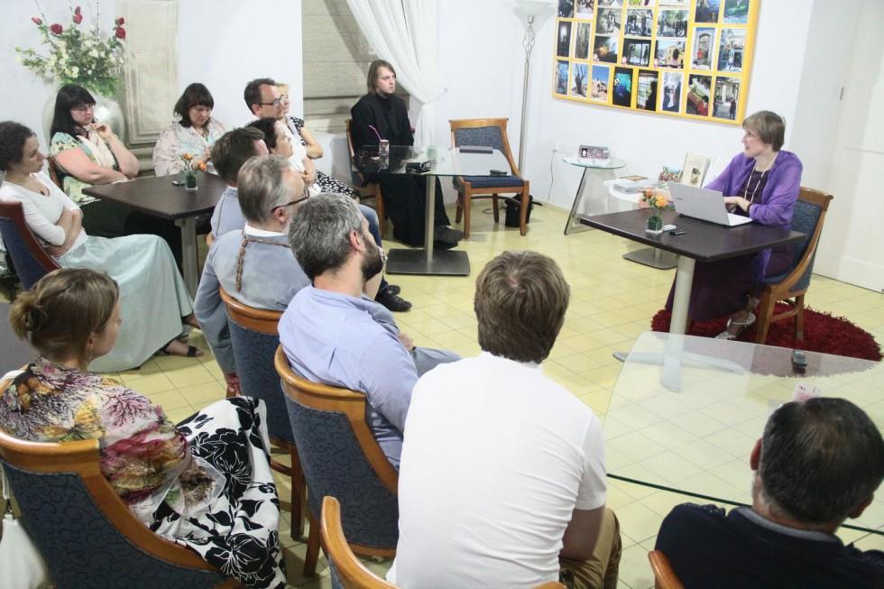 Открытая лекция Юлии Балакшиной «Диалог Церкви и светской культуры: история и современность» в Лимассоле