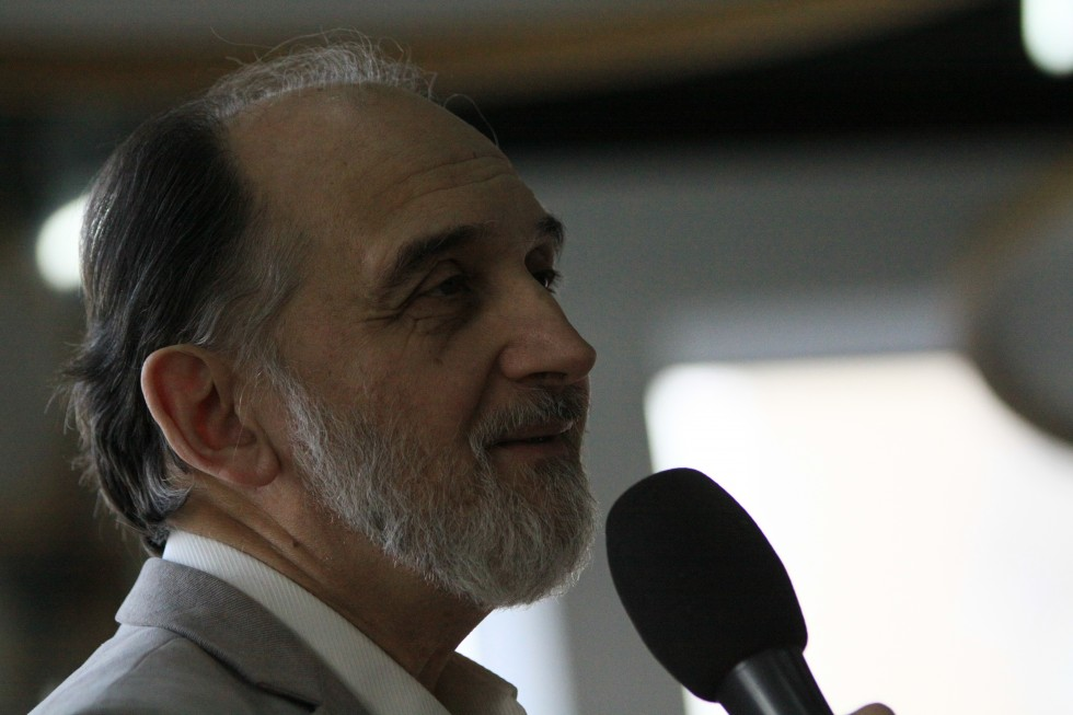 Профессор Александр Михайлович Копировский, учёный секретарь СФИ, наш преподаватель церковного искусства