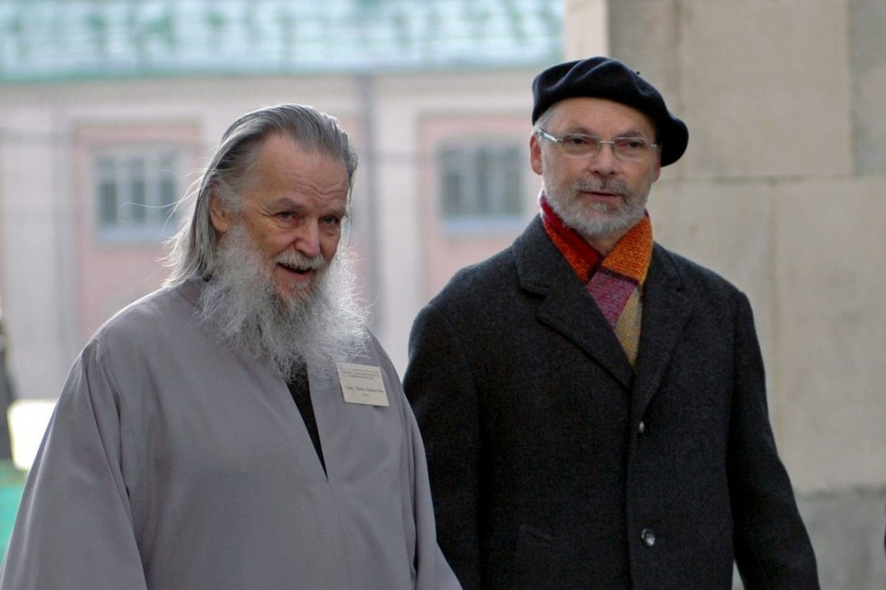 Fr. Pavel Adelgeym and Fr. Georgy Kochetkov. 2010