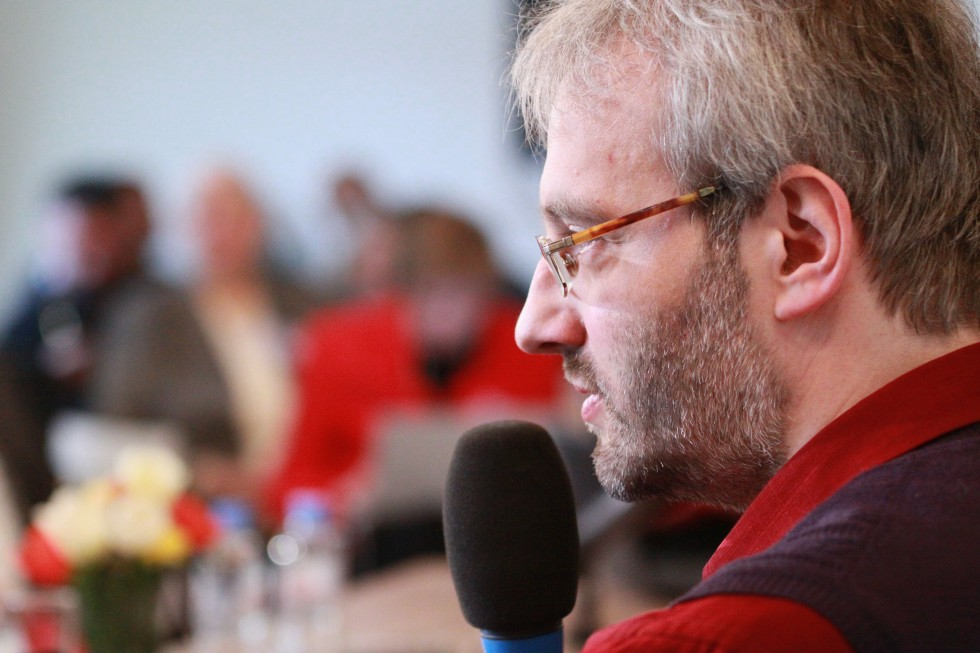 Глеб Ястребов, старший преподаватель СФИ, проанализировал четвероевангелие как собрание катехизических текстов о Христе