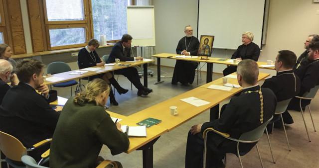 SFI Representatives visit Helsinki