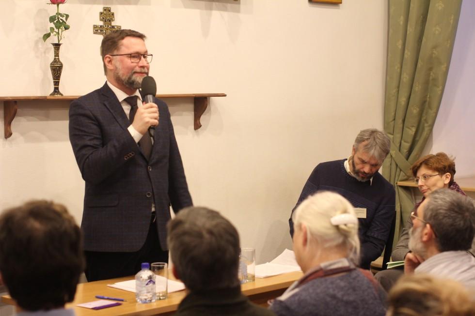 Дмитрий Гасак, первый проректор СФИ. Итоги конференции