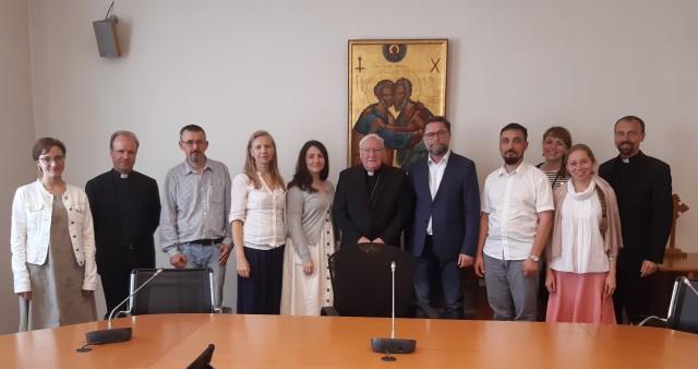 Делегация СФИ в Папском совете по содействию христианскому единству