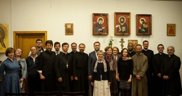 Representatives of the Roman Catholic Church Visit St. Philaret's Institute