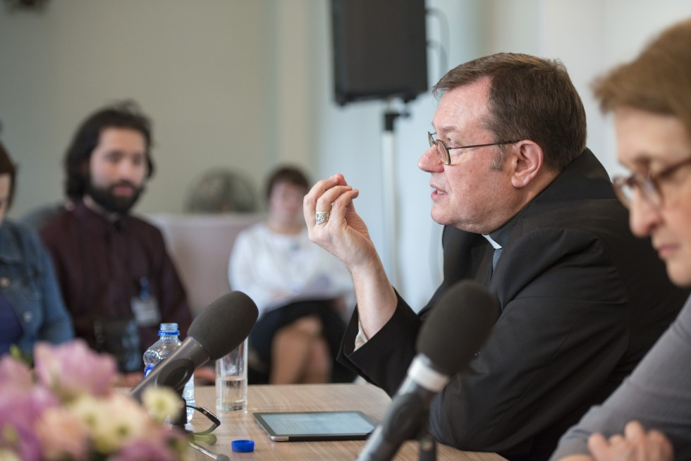 Archbishop Paolo Pezzi, Metropolitan of the Archdiocese of Moscow of the Roman Catholic Church