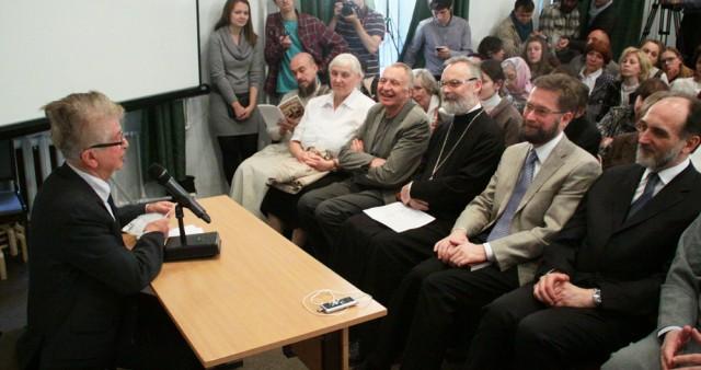 Лекция профессора Жоржа Нива на открытии 25-го учебного года в Свято-Филаретовском институте