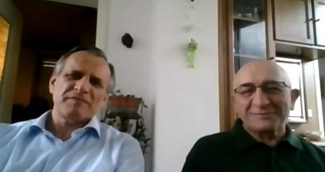Поздравление Пьеранджело Торричелли и Пьерджорджо Поцци