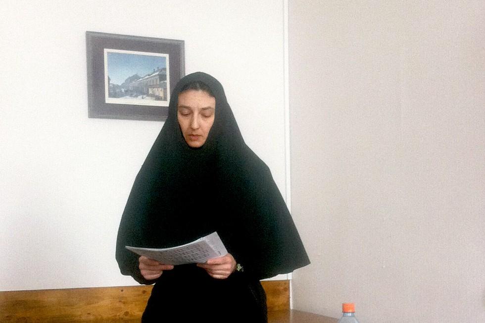 Монахиня Евстолия (Егорова), сотрудница проекта «Литургическое наследие Православной церкви»