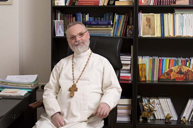 Fr. Georgy Kochetkov, Rector of St. Philaret's Christian Orthodox Institute