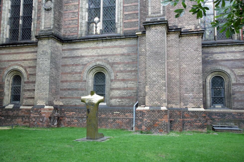 Сионская церковь, гдеДитрихБонхёффер служилвначале 30-х годов