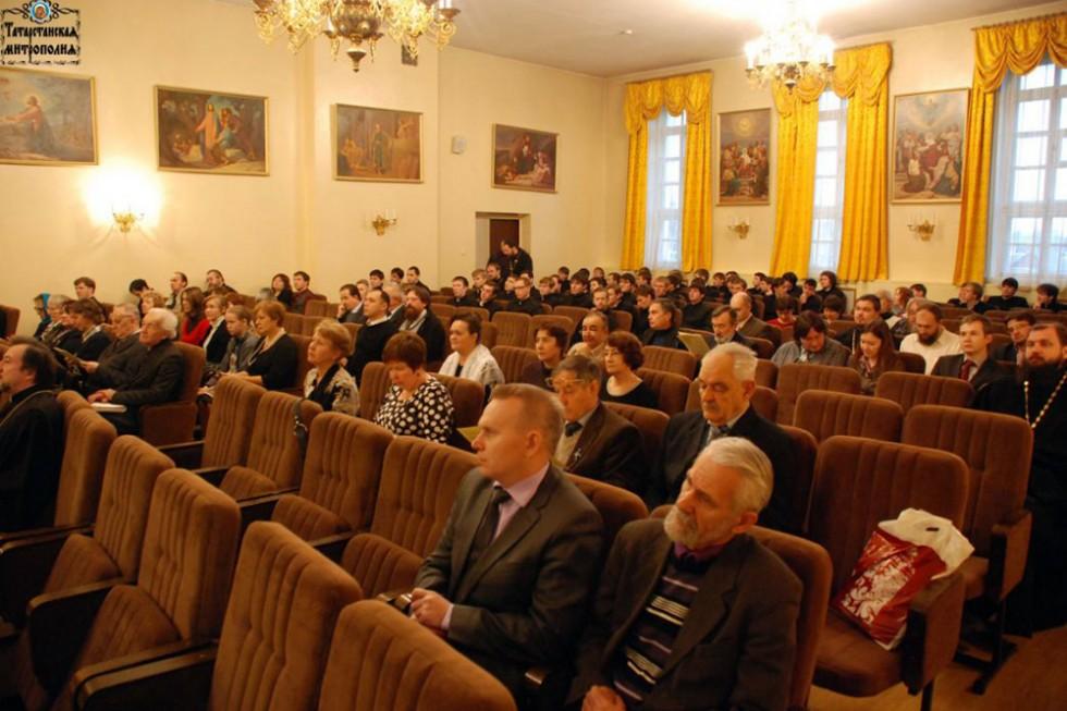 Приветствие ректора Казанской духовной семинарии митрополита Казанского и Татарстанского Анастасия