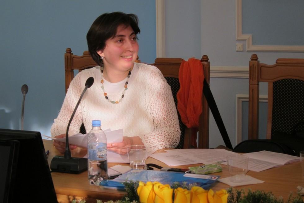 Анна Алиева, кандиа, кандидат социологических наук, преподаватель СФИ