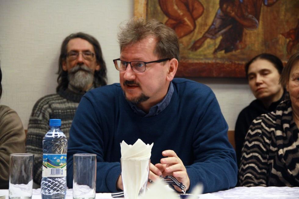 Александр Баранов, доцент кафедры религиоведения СФИ, заведующий кафедрой социально-гуманитарных наук Академии социального управления