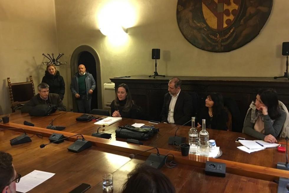Встреча с руководством департамента соцуслуг мэрии Милана