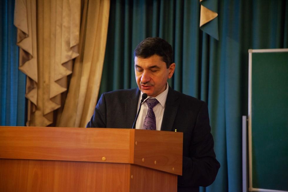 Дмитрий Богатырев, ректор РХГА