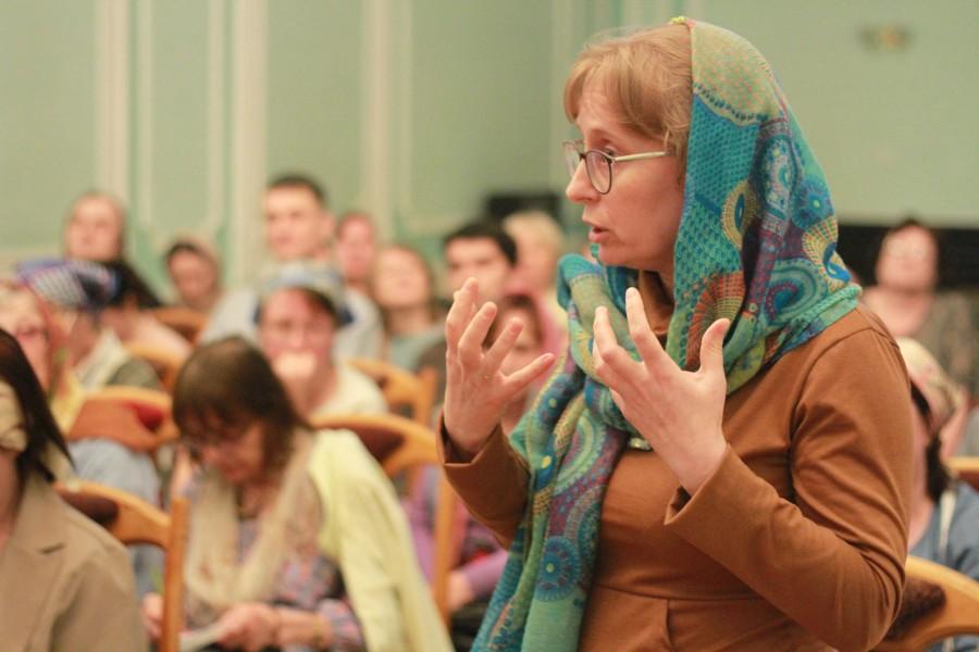 Председатель Мариинского православного братства Лидия Крошкина