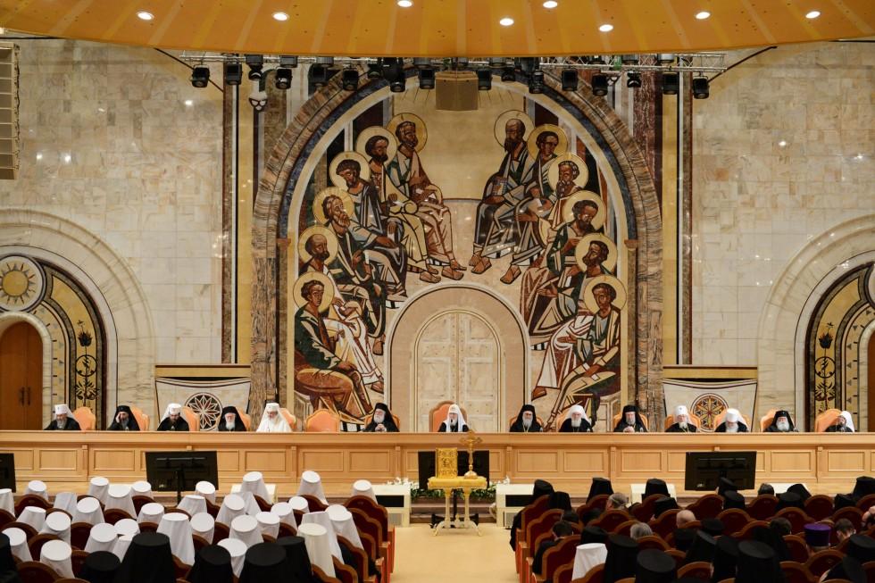 Заседание Архиерейского собора Русской православной церкви, 2017 год. Фото:moseparh.ru