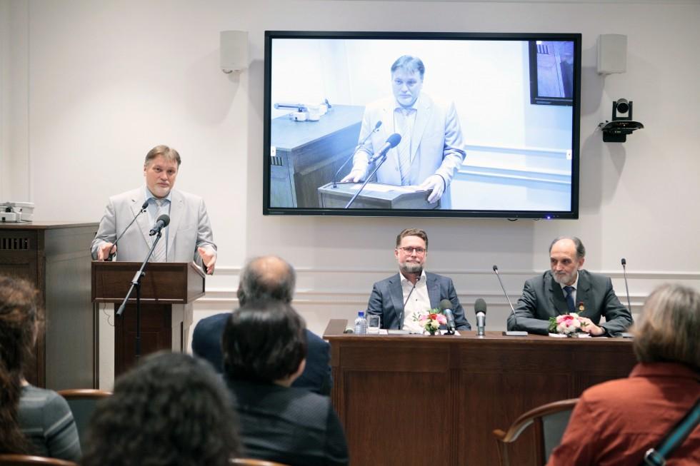 Выступление профессора Алексея Мазурова, доктора исторических наук, ректора СФИ