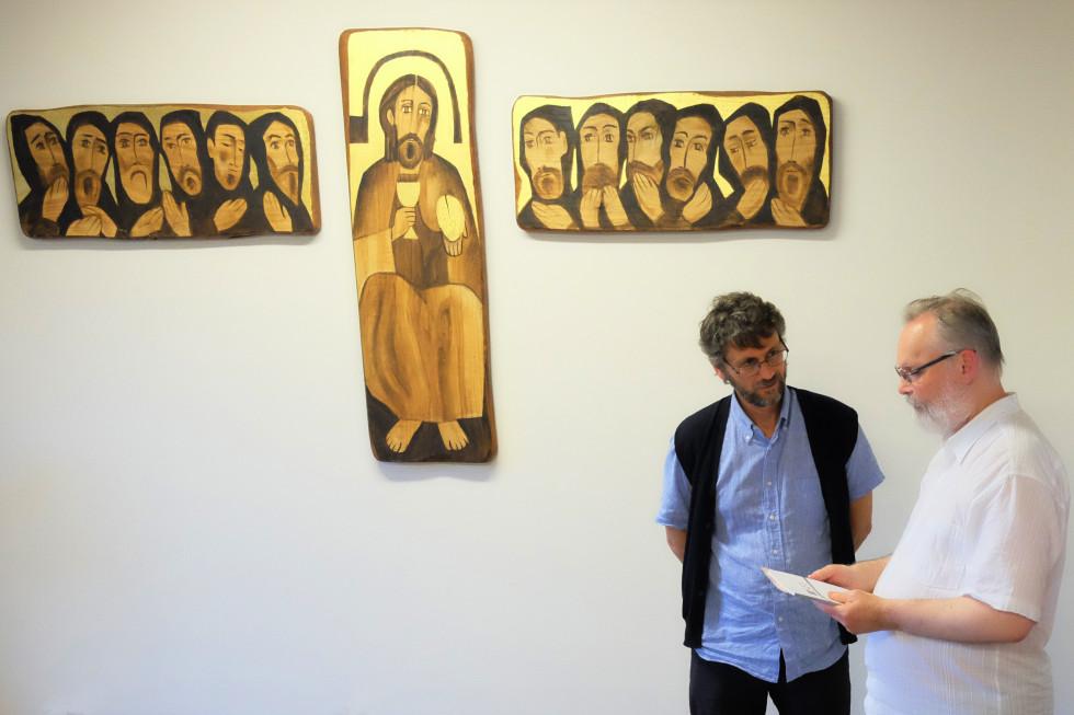 С братом Рупертом из бозийской общины в Ассизи