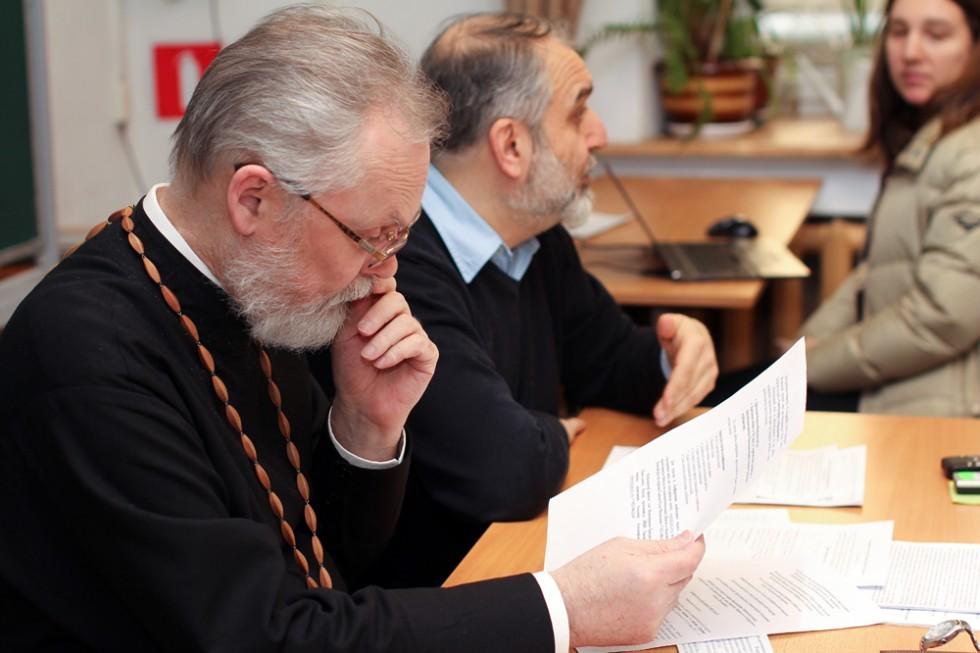 Заведующий кафедрой миссиологии, катехетики и гомилетики, ректор СФИ священник Георгий Кочетков