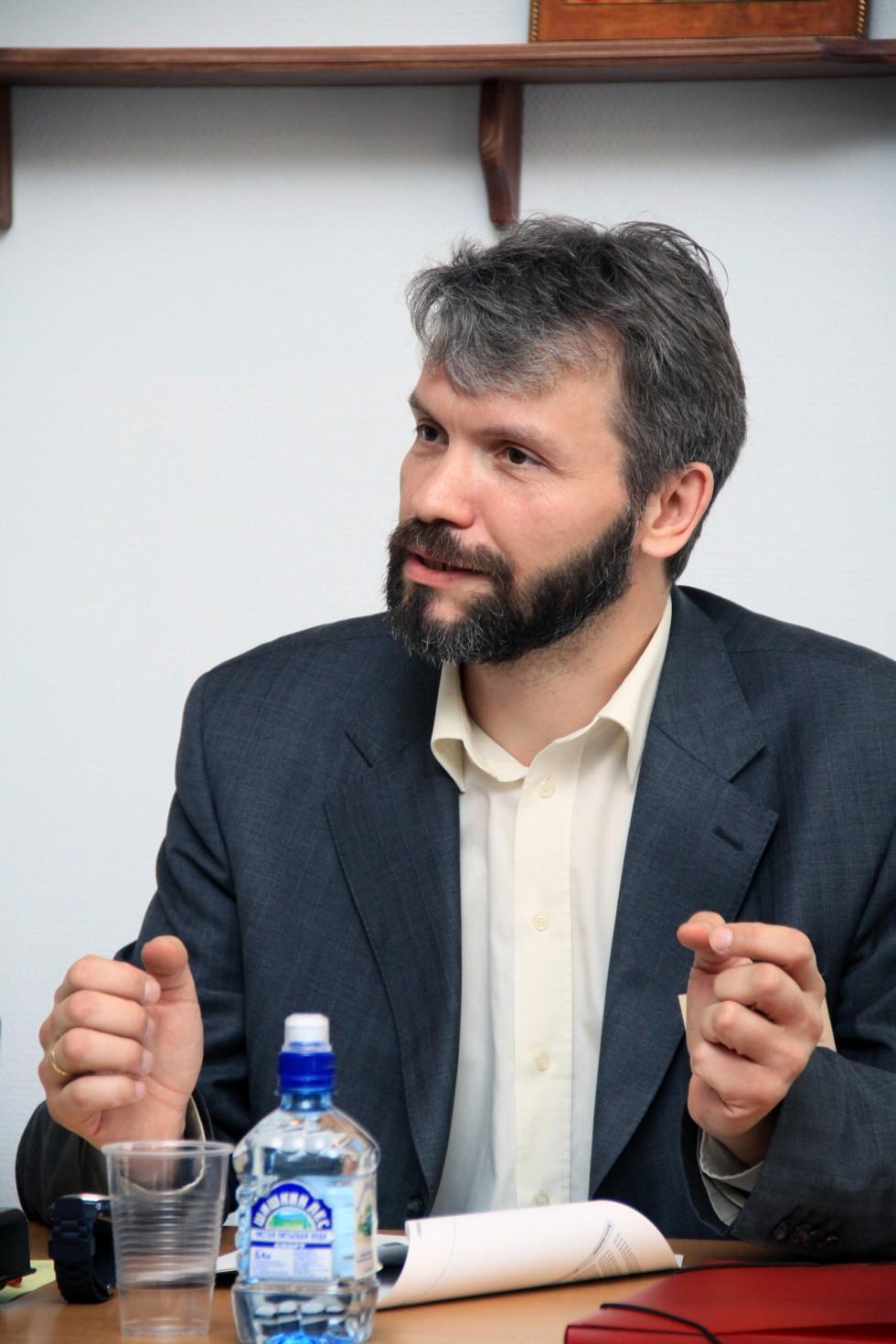 Владимир Якунцев,сотрудник Научно-методического центра по миссии и катехизации при СФИ