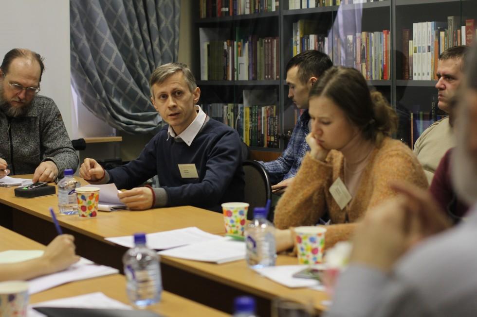 Алексей Макаров (СФИ) рассказал о культурно-просветительской деятельности священника Григория Петрова