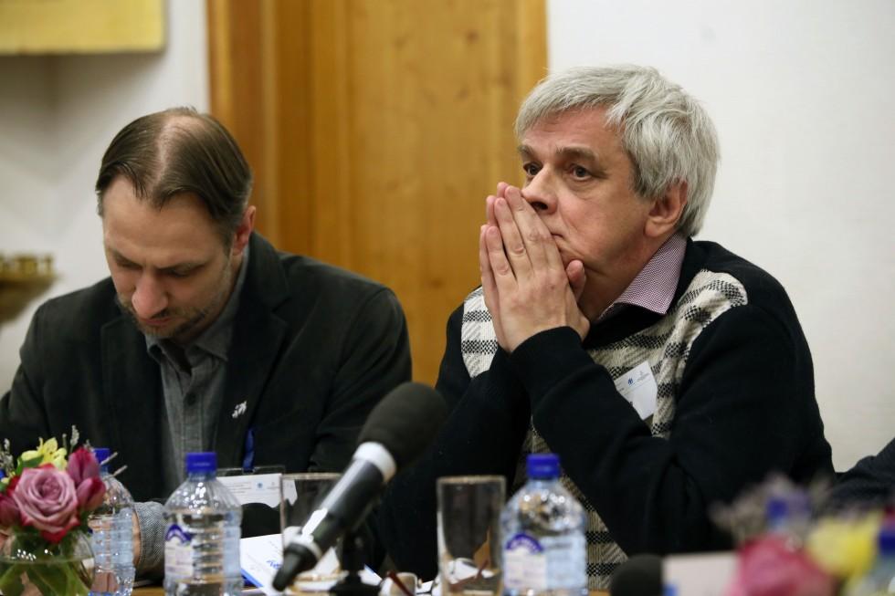 Пётр Сахаров, преподаватель Института святого Фомы