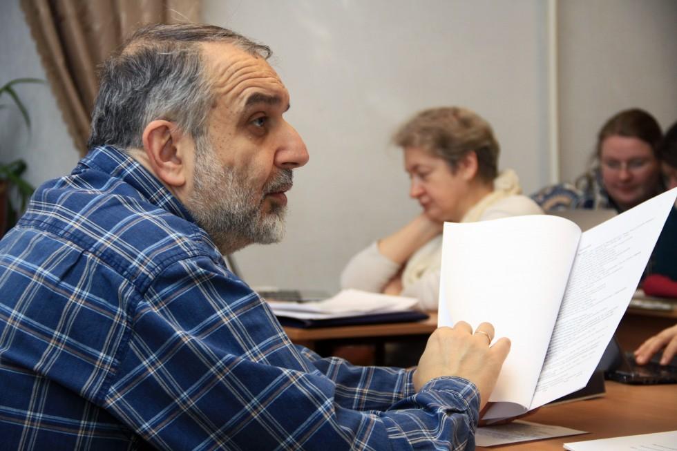 Давид Гзгзян, заведующий кафедрой богословских дисциплин и литургики СФИ