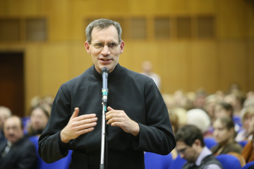 Директор Института святого Фомы священник Штефан Липке SJ