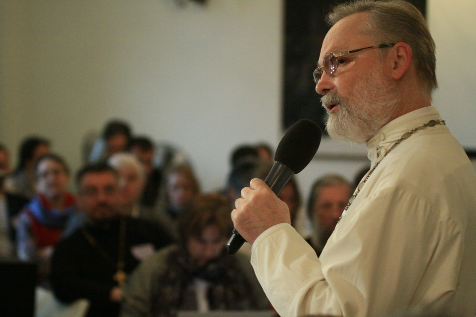 Священник Георгий Кочетков, ректор СФИ