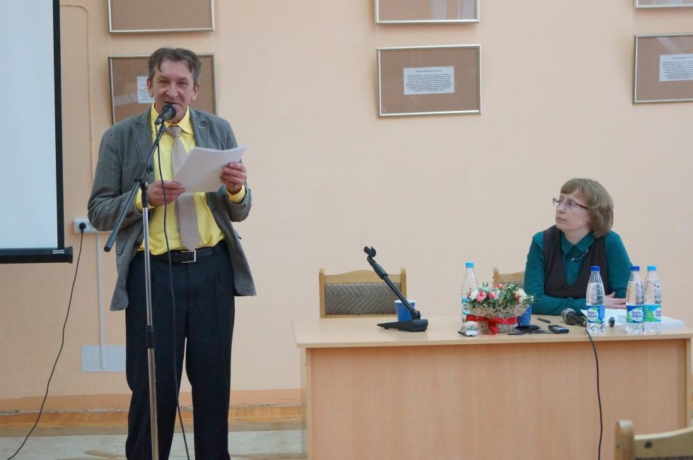 Юрий Варзонин, доктор филологических наук,профессор Тверского государственного университета