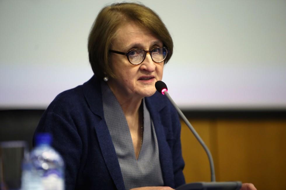 Проректор СФИ по учебной работе Лариса Мусина рассказывает об итогах работы Института в 2018/2019 учебном году
