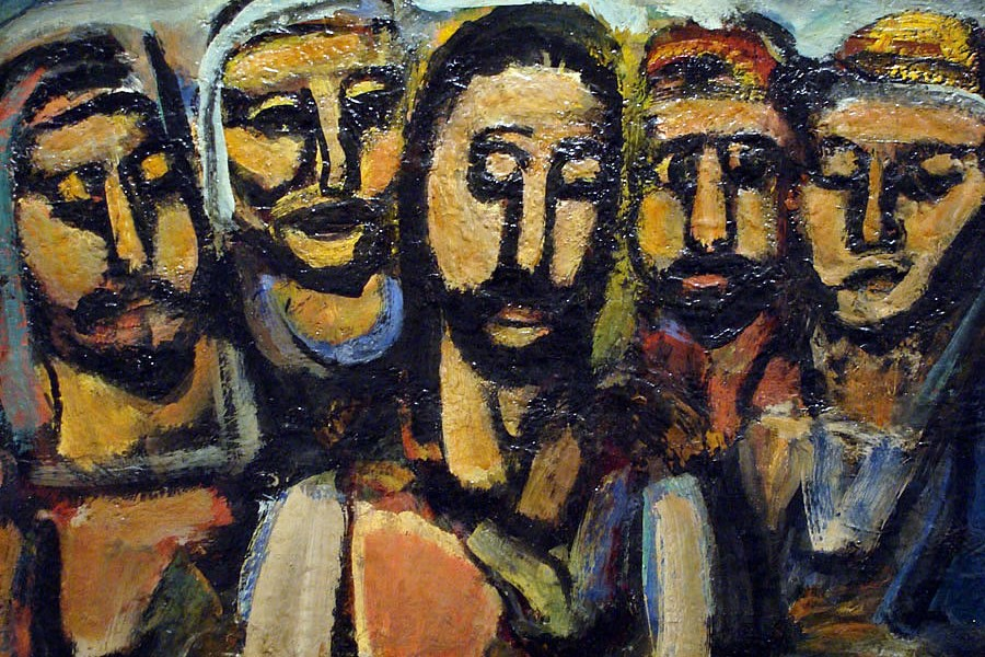Georges Rouault. Christ and the Apostles (1925)