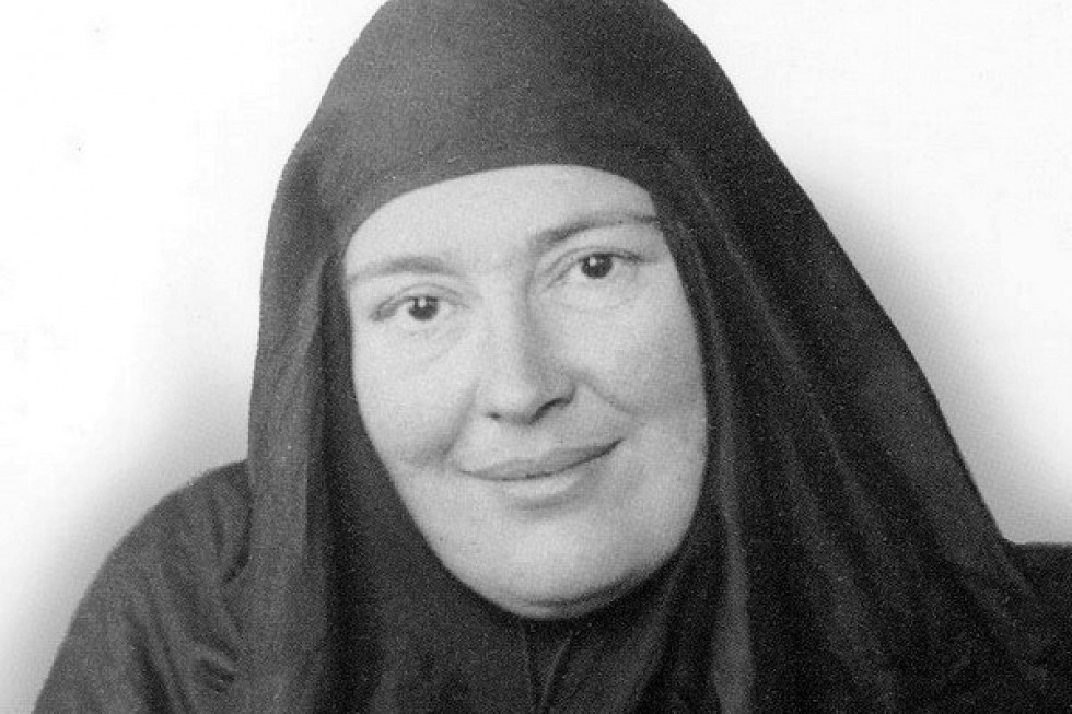 Mother Maria (Skobtsova) – an original thinker, theologian, preacher and founder of the Orthodox Affair (Pravoslavnoye Delo) charitable and cultural-educational society. She died a martyr's death in the gas chamber at Ravensbruk on 31 March, 1945