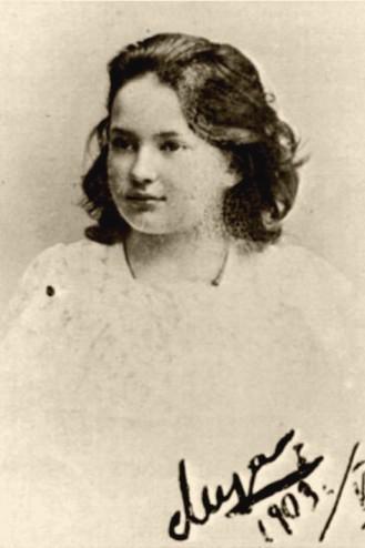 Лиза Пиленко в 1903 году