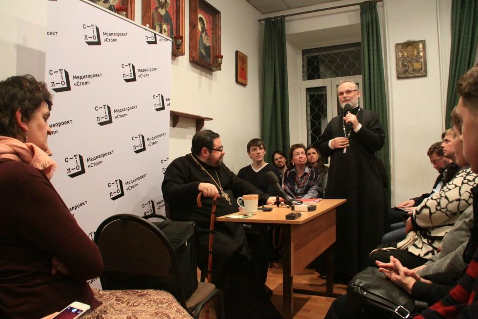 Ректор СФИ профессор священнник Георгий Кочетков